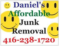 Disposal and junk removal, affordable / reliable