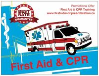First Aid & CPR Training - Certification