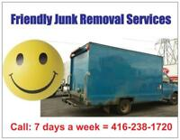 Get your junk removed today!