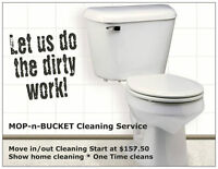 Moving out? No time to clean? - We can help! mopnbucket.ca
