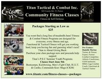 NEW -  Physical Training & Defensive Combat - Picton