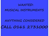CASH PAID FOR MUSICAL INSTRUMENTS & EQUIPMENT, ANYTHING CONSIDERED