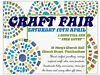 ** FREE ENTRY ** CRAFT FAIR, CHURCH STREET, TWICKENHAM. SATURDAY 12TH APRIL FROM 1.30PM TILL 5PM. Church Street, London