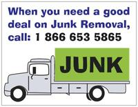 Junk removal, it's what we do and we do it great!