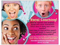 Singing Lessons, Speech Coaching, Vocal Therapy