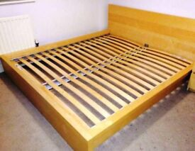 Malm ikea king size bed frame
