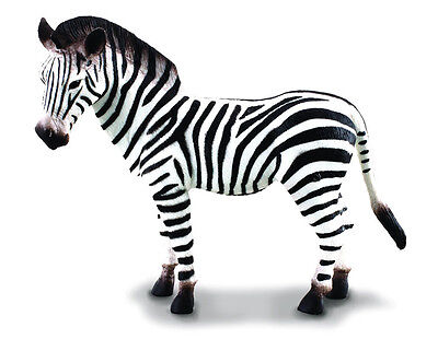 ADULT ZEBRA ANIMAL MODEL by COLLECTA 88032 *NEW WTH TAG*