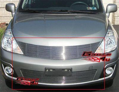 Fits Nissan Versa Billet Grille Combo 07-11 2011
