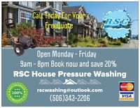 Booking All Your Pressure Washing Needs