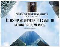 Bookkeeping Services Pro-Advisor Bookkeeping Services