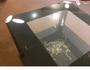 Double glassed coffee table
