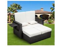 Garden Daybed/Sofa - fully adjustable, suitable for up to 4 people