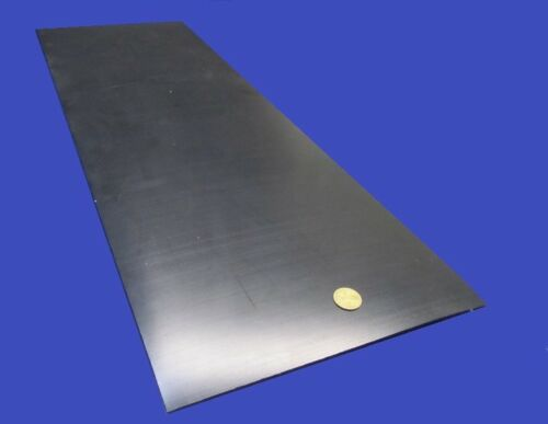 "Tivar UHMW PE Black Sheet .125"" (1/8"") Thick x 12"" Wide x 36"" Length"