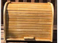 Rustic France inspired reloved pine double decker bread bin