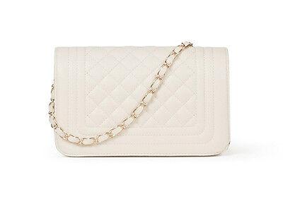 Snap Flap Love Quilted Flap Handbag Women