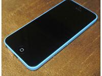 Iphone 5c Blue,Unlocked,Mint Condition !!