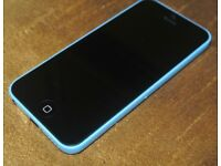 iPhone 5c in blue on o2