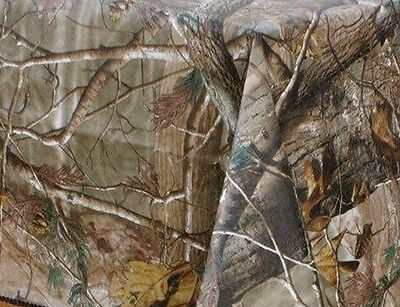 Realtree Ap Camouflage Peva vinyl flannel back tablecloth 60 Round