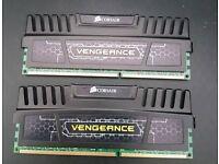 Corsair Vengeance 4GB x 2 (DDR3 1600)