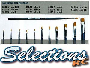 Italeri-Quality-Synthetic-Flat-Modelling-Brushes-For-Plastic-Model-Kits-Airfix