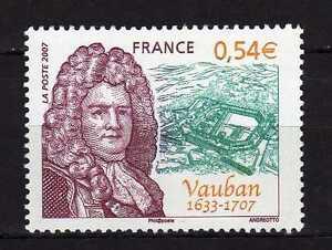 France-TG-2007-Y-amp-T-4031-Personnalite-Sebastien-Le-Prestre-de-Vauban-Neuf-MNH