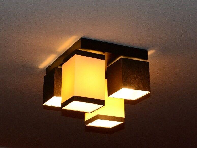 AUSVERKAUF!Deckenlampe Deckenleuchte Lampe Leuchte 4 flammig Edel Bianca MU 2/2M