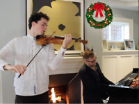 Violin & Piano for Holiday Events === Video Inside