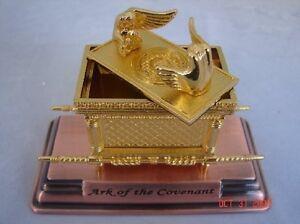 Ark of the Covenant Jerusalem Holy Land Israel Souvenir Gold Replica Mini 4.5