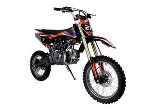 Full Size 125cc Deluxe Dirt Bike / Pit Bike  on for $899.99!SAVE