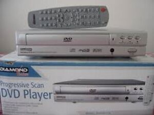 DVD player without remote
