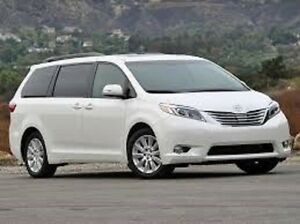 2014 or newer Toyota Sienna AWD Minivan