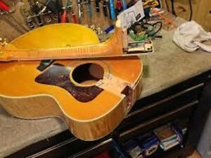 broken or old guitar wanted, cash paid