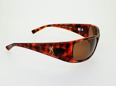 Browning Sunglasses Boss Tort. TR90 Frame Amber CR39 Polarized Lens (Tort Sunglasses)