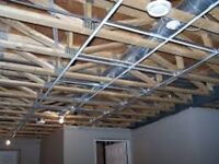 BEST PRICES FOR Suspended Ceiling tiles installation ($1.50/SF),
