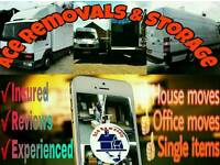Ace Removals & Storage 2 Man and Van Movers Removal Hire Leeds Bradford Wakefield Huddersfield Cheap