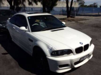 2005 BMW M3 E46 COUPE 32.L (S54 MOTOR) 6SP SMG - WRECKING #B1068 Sydney Region Preview