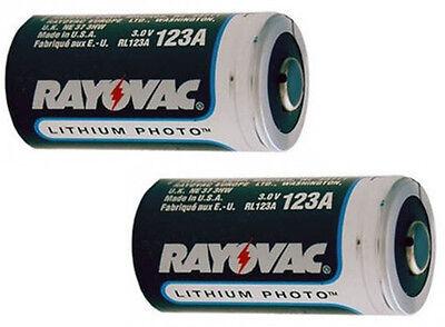 CR123A  cr123a Lithium Batteries 2 pack  bulk new
