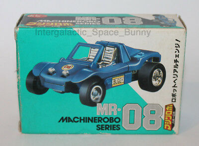 1986 Bandai Machine Robo MR-08 Buggy Robo Boxed