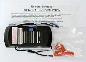 Ceiling Fan Remote Control Receiver Ebay