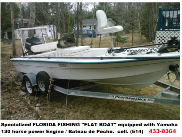 "Used 1997 Other Pro Sport 1800FF Fishing ""Flat Boat"" / B"