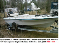 Florida Pro Sports 1800FF Fishing Boat / Bateau de pêche