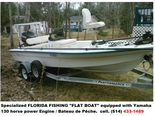 "Used 1997 Other Pro Sports 1800FF Fishing ""Flat Boat"" /"