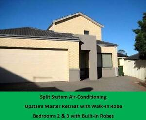 Back townhouse 3  x 2  Alarm , split airconditioner Westminster Stirling Area Preview