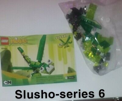 Mixels lego, mixel series 6, Slusho. put together once/never played with