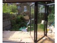 3 Door Bifolding Door Unglazed