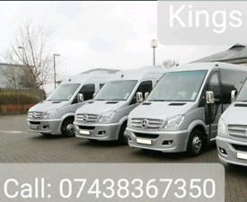 Cheap Minibus & Coach Hire with driver London