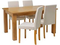 As New Condition - Stunning, Oakleigh Extending Dinning Table - Seats 6-12 people when extended