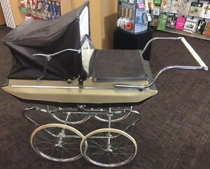 Antique Baby Buggy.