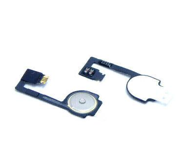 2X F R IPHONE 4 4G A1349 A1332 HOME BUTTON FLEX DRUCK KNOPF RIBBON REPARATUR