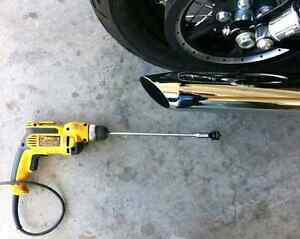 Modification d exaust baffel muffler d origine harley davidson